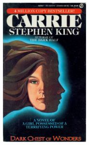 A Stephen King book from before he was as famous as he is now. Note the book title is larger than his name.