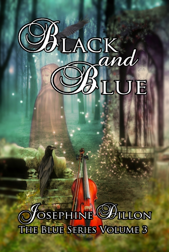 blackand blue cover