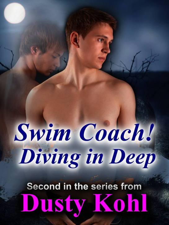 Swimming Coach Diving in Deep